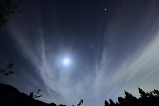 パワーストーンの月光浴