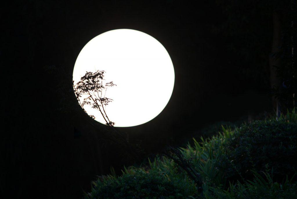 パワーストーンの月光浴の時間帯